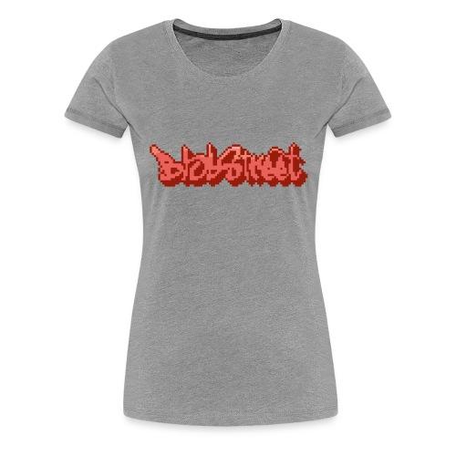 BlobStreet Name - T-shirt Premium Femme