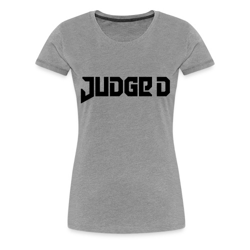 Logo_Judge_D - Frauen Premium T-Shirt