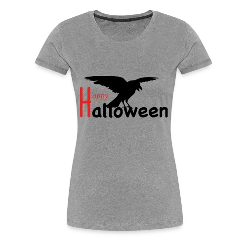 Happy Halloween - Rabe - Frauen Premium T-Shirt