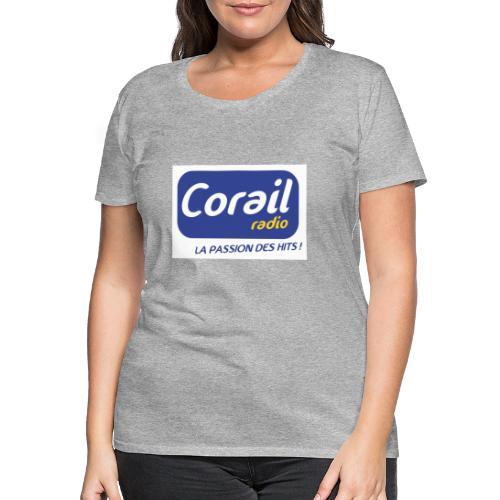 Logo bleu - T-shirt Premium Femme