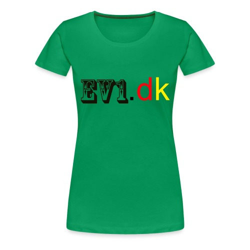 ev1 - Dame premium T-shirt