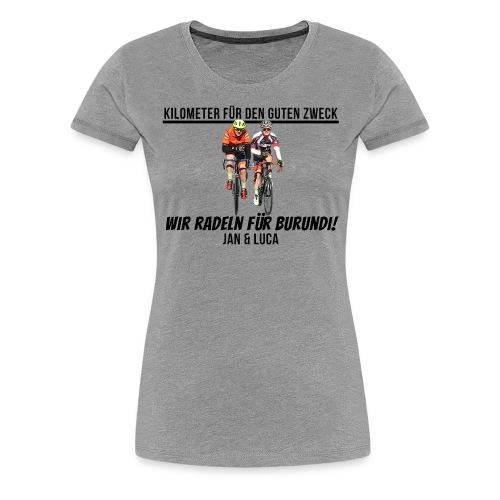 Jan und Luca für Burundi - Frauen Premium T-Shirt