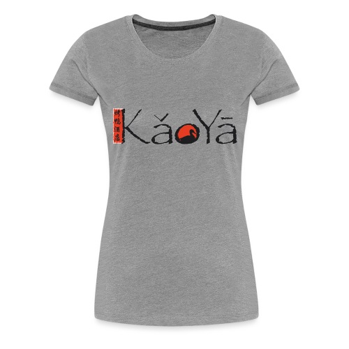 Kaoya Logo - Frauen Premium T-Shirt