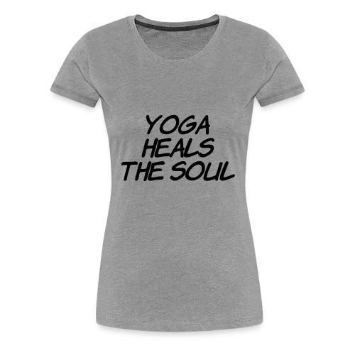 yoga - Vrouwen Premium T-shirt