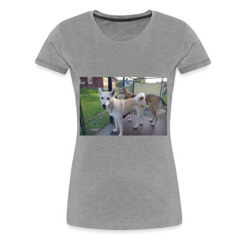 L1000041 - Premium T-skjorte for kvinner