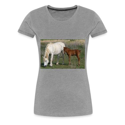 poulain sa mere - T-shirt Premium Femme