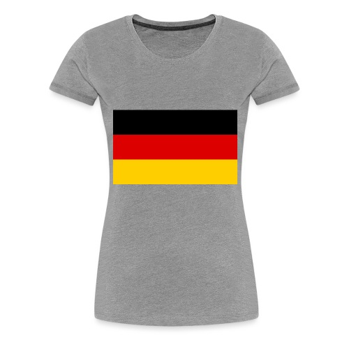 2000px Flag of Germany svg - Frauen Premium T-Shirt