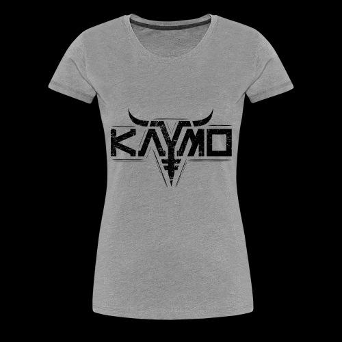 LOGO ALONE GRUNGE FOR DIGITAL PRINT ONLY BLACK - Premium T-skjorte for kvinner