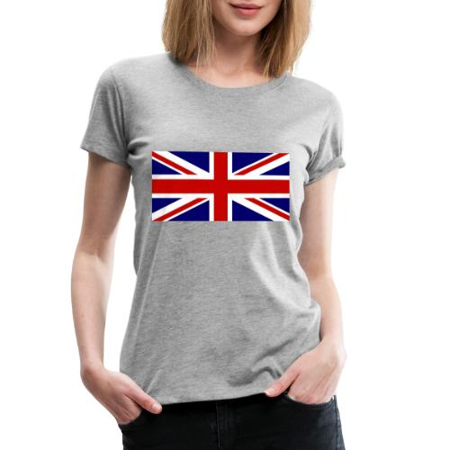 drapeau anglais - T-shirt Premium Femme