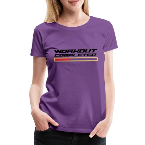 Workout Komplett - Frauen Premium T-Shirt