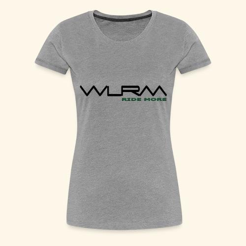 WLRM Schriftzug black png - Frauen Premium T-Shirt