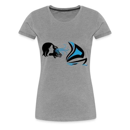 Des Voiles & Femmes - T-shirt Premium Femme