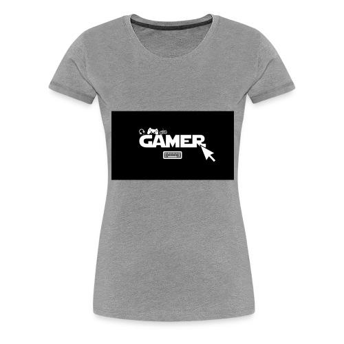 gamer - Maglietta Premium da donna