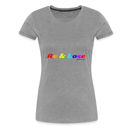 Rainbow - Maglietta Premium da donna