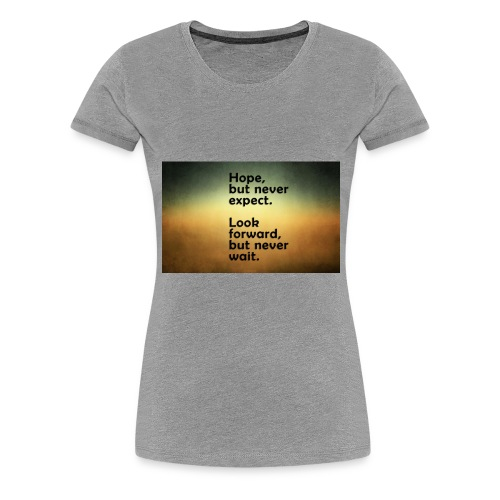 68655307 thoughts wallpapers - Women's Premium T-Shirt
