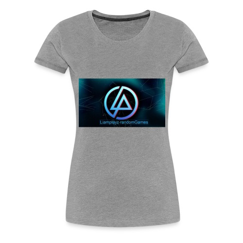 liamplays merch - Women's Premium T-Shirt