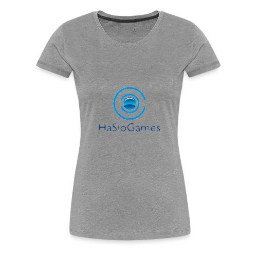 HasloGames Producten officieel logo - Vrouwen Premium T-shirt