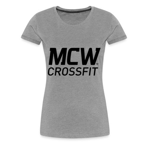 MCW Sportklubb - Premium-T-shirt dam