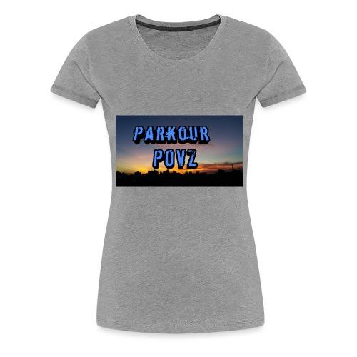 Parkour POVZ merchandise - Women's Premium T-Shirt