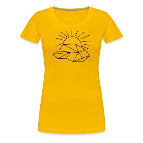 Sonne Wolke - Frauen Premium T-Shirt