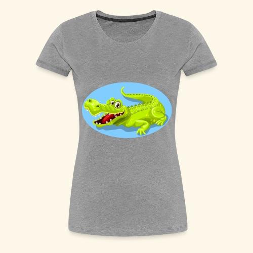 crocodile - T-shirt Premium Femme
