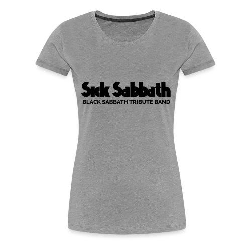 SickSabbath-letters - Vrouwen Premium T-shirt