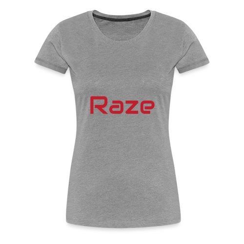 raze - Premium T-skjorte for kvinner