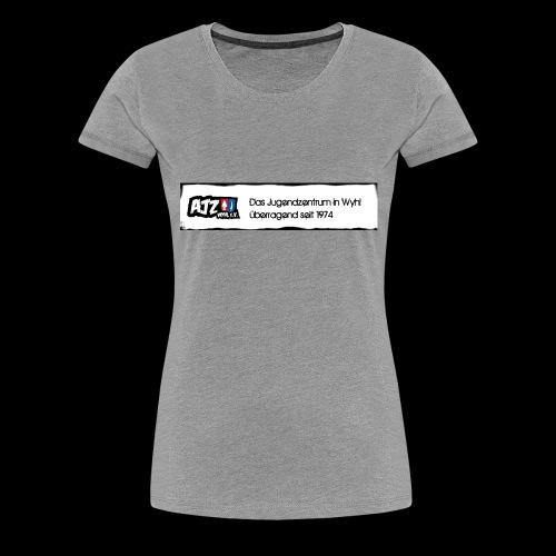 schild Kopie jpg - Frauen Premium T-Shirt