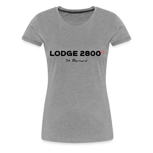 Lodge 2800 - T-shirt Premium Femme