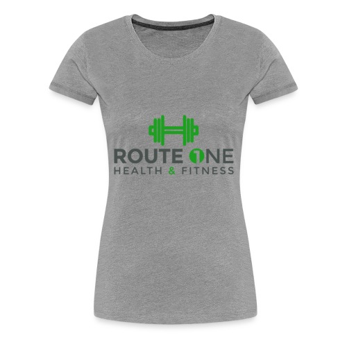 Route 1 Health and Fitness - Women's Premium T-Shirt