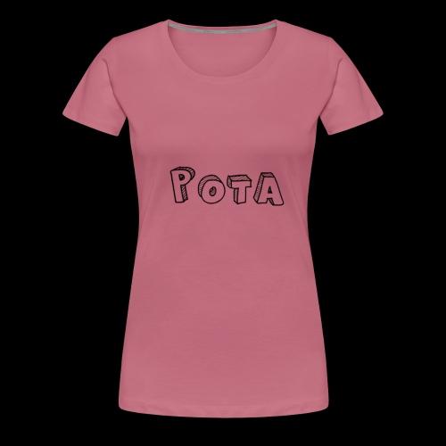 pota1 - Maglietta Premium da donna
