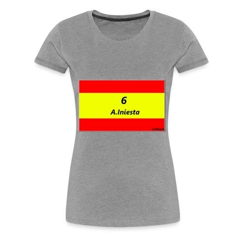 A.INIESTA - Camiseta premium mujer