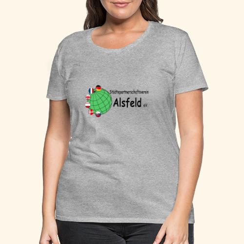 Städtepartnerschaft Alsfeld - Frauen Premium T-Shirt