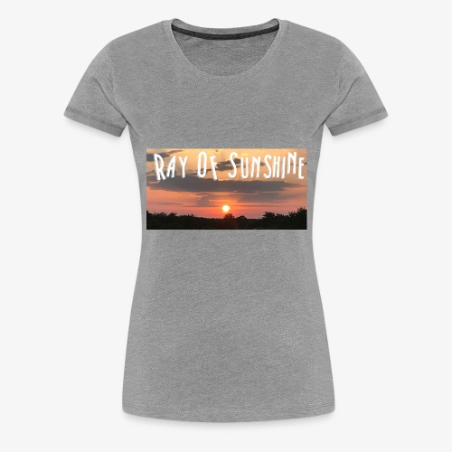 Ray of sunshine - Women's Premium T-Shirt