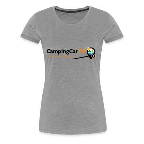 LOGO CCTV - T-shirt Premium Femme