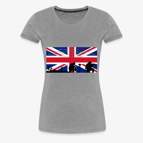 PSTD Awareness - Women's Premium T-Shirt