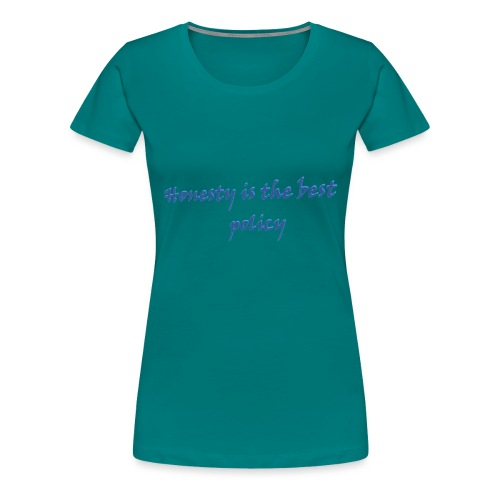 Proverbs in English - Women's Premium T-Shirt