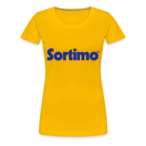 Sortimo - Premium-T-shirt dam