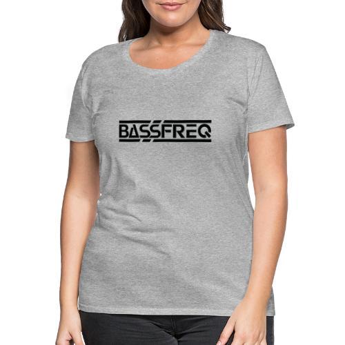 Bassfreq Logo Black - T-shirt Premium Femme
