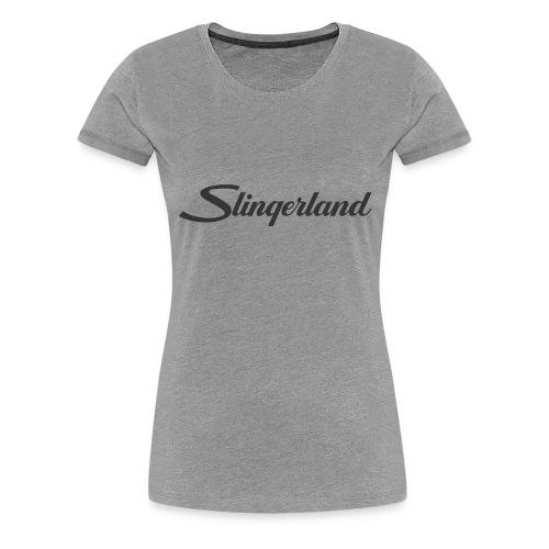 slingerland300dpi - Vrouwen Premium T-shirt