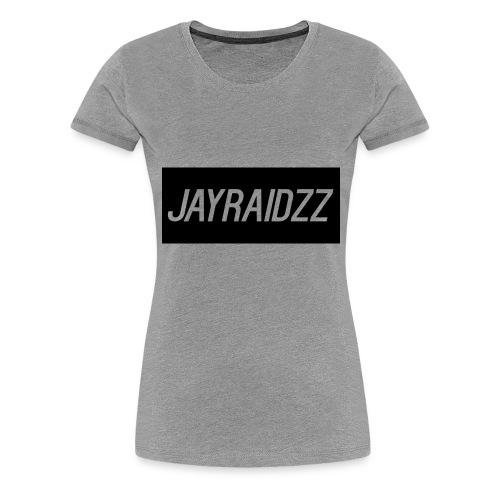JAYRAIDZZTEXTLOGO - Women's Premium T-Shirt