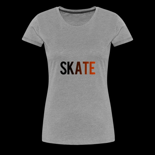 SKATE - Vrouwen Premium T-shirt