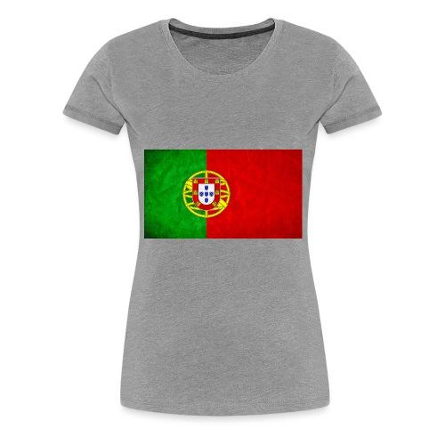 portugal flag - T-shirt Premium Femme