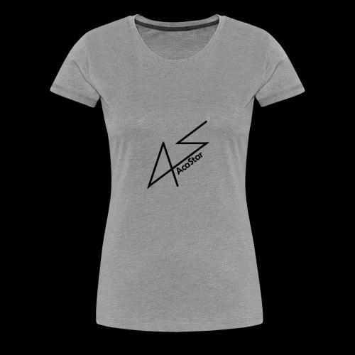 Logo Noir - T-shirt Premium Femme