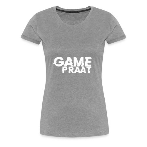 GamePraat Logo - Vrouwen Premium T-shirt
