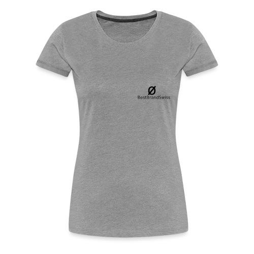 BestBrandSwiss logo - T-shirt Premium Femme