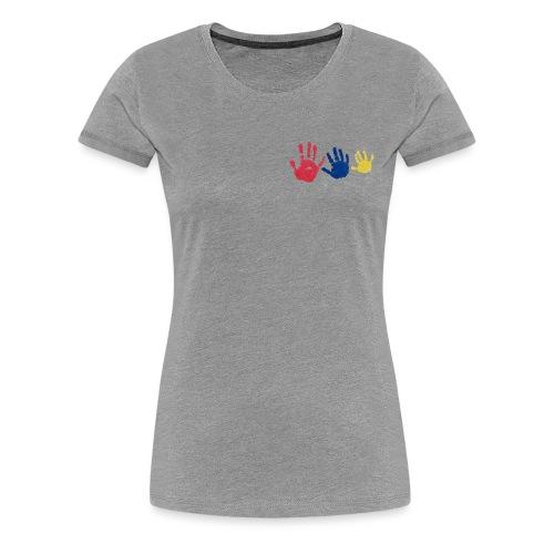 Kinderhände - Frauen Premium T-Shirt