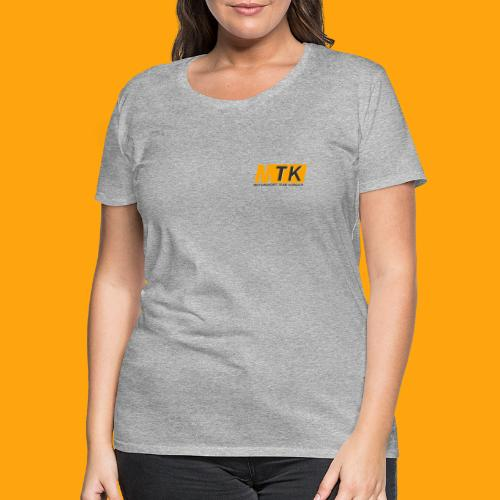 Classic Grey - Frauen Premium T-Shirt