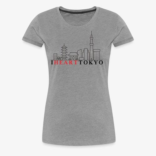 I HEART TOKYO Ver.1 - Women's Premium T-Shirt