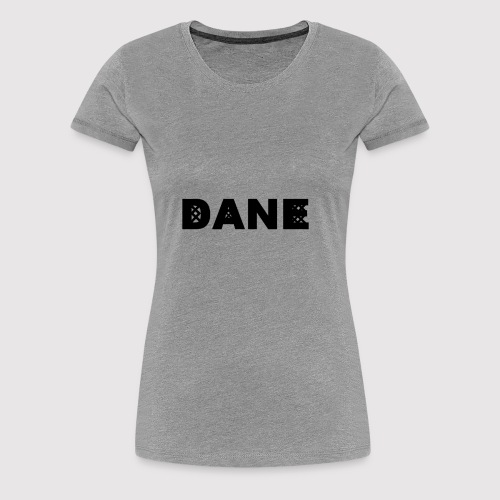 DANE - Knitted Original - Women's Premium T-Shirt